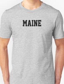 Maine Jersey Black T-Shirt