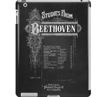 Studies from Beethoven  iPad Case/Skin