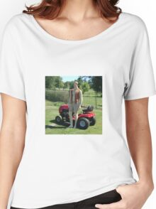 Perfect Lawn Boy Women's Relaxed Fit T-Shirt
