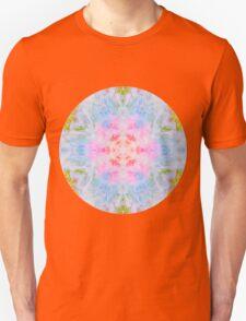 Pastel Beige Mandala Tie Dye  Unisex T-Shirt