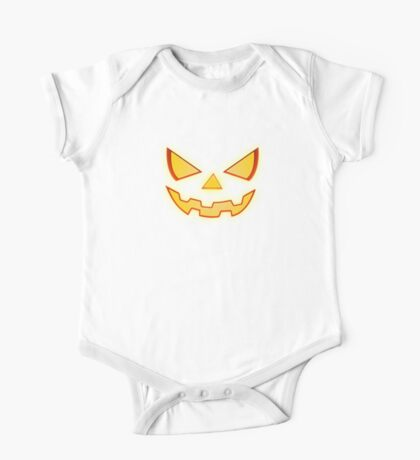 Scary Halloween Horror Pumpkin Face Kids Clothes
