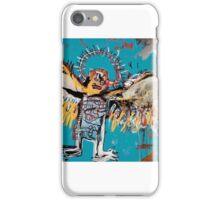 Basquiat flying angel iPhone Case/Skin