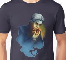 Ghostly Smoking Unisex T-Shirt