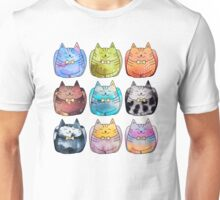 Colorful Cats Unisex T-Shirt
