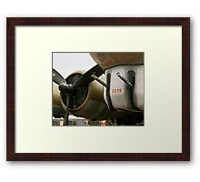 Boeing B-17 Flying Fortress - Detail Framed Print