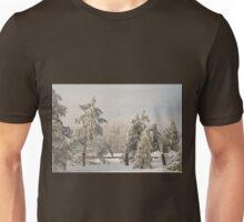 Blue Knob Winter Unisex T-Shirt