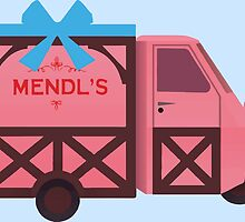 Grand Budapest Hotel - Mendl's by Mafghan