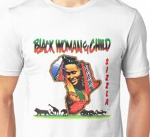 Black Woman & Child Unisex T-Shirt