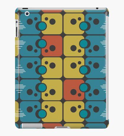 Abstract retro pattern iPad Case/Skin