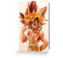 pharaoh husband Greeting Card