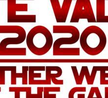 Vote Vader 2020 Sticker