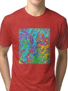 Psychedelic Spring Tri-blend T-Shirt