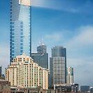 Saturday in Melbourne by Robert Dettman