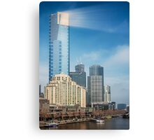 Saturday in Melbourne Canvas Print