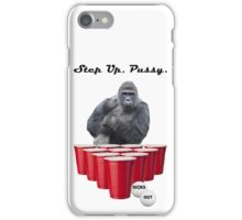 Harambe Beer Pong Step Up iPhone Case/Skin
