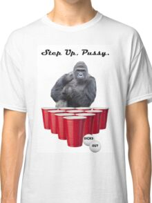 Harambe Beer Pong Step Up Classic T-Shirt