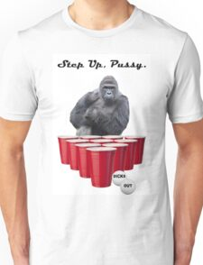 Harambe Beer Pong Step Up Unisex T-Shirt