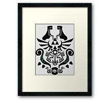 Legend of Zelda (mashup) Framed Print