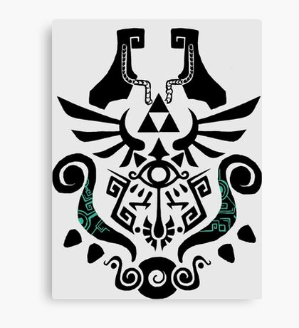 Legend of Zelda (mashup) Canvas Print