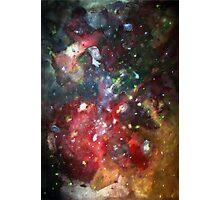 galaxy mesh up Photographic Print