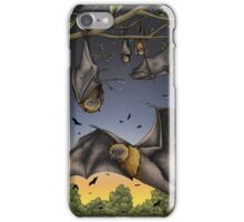 Rodrigues Fruit Bats iPhone Case/Skin