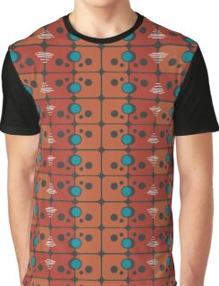 Abstract pattern on a gray background Graphic T-Shirt