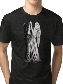 Weeping Angel - Don't Blink Tri-blend T-Shirt