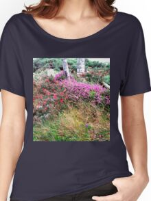 Roadside  Flowers, Donegal, Ireland Women's Relaxed Fit T-Shirt