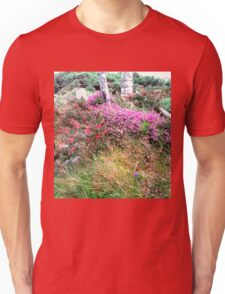 Roadside  Flowers, Donegal, Ireland Unisex T-Shirt