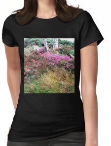 Roadside  Flowers, Donegal, Ireland Womens Fitted T-Shirt