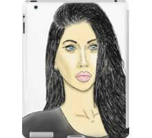Zoe Patel (Colored) iPad Case/Skin