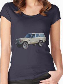 Toyota Land Cruiser Women's Fitted Scoop T-Shirt