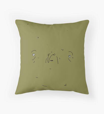 Clarence - The Big Lez Show Throw Pillow