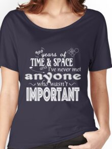 900 Years of Time and Space Women's Relaxed Fit T-Shirt