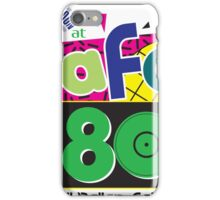 Cafe 80s iPhone Case/Skin
