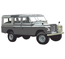 1975 Land Rover Defender Photographic Print