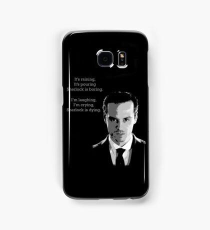 Sherlock Holmes Moriarty  Samsung Galaxy Case/Skin