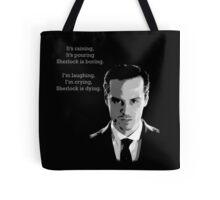 Sherlock Holmes Moriarty  Tote Bag