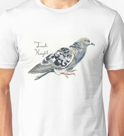 Trash Knight Pigeon Unisex T-Shirt