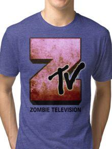 Zombie TV Tri-blend T-Shirt