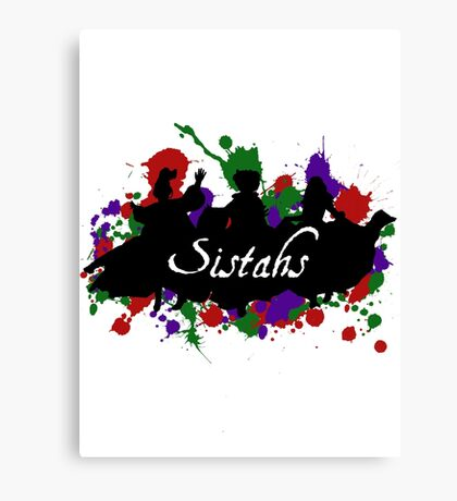 Sistahs! Canvas Print