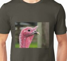 Profile Of A Turkey Unisex T-Shirt