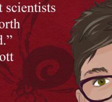 #SciComm100: Catherine Scott Sticker