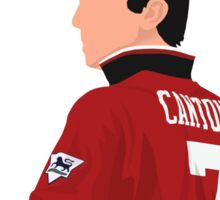 Eric Cantona design Sticker