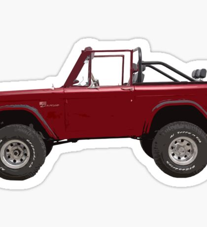 Ford Bronco Sticker