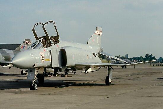McDonnell F-4M Phantom FGR.2 XV491/F by Colin Smedley