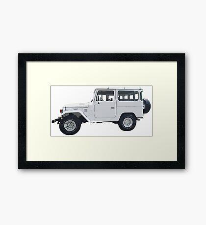 Toyota Land Cruiser Framed Print