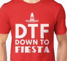 DTF. Down to Fiesta Unisex T-Shirt