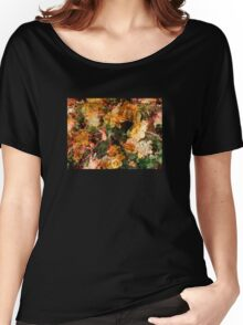 Begonia Burst Women's Relaxed Fit T-Shirt