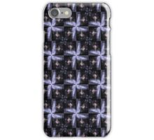 rosebud in the snow 3, tinted, starry pattern iPhone Case/Skin